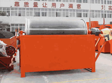 Magnetic SeparatorIron Oremining Clay Processing