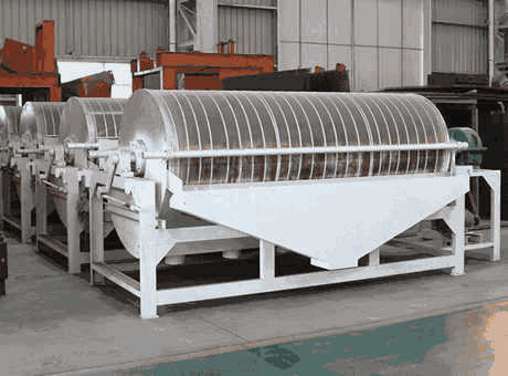 efficient portablecalcining ore magnetic separatorsell