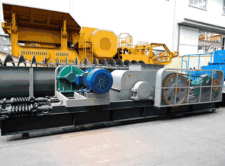 Crushed Stone BallastToothedDoubleRoll Crusher