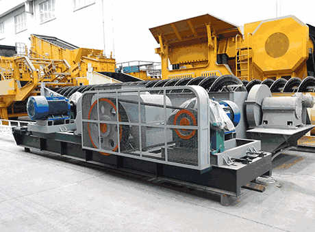France efficient portable cobblestone toothed roll crusher