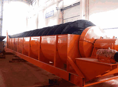 high end small calcium carbonate spiral classifier sell at