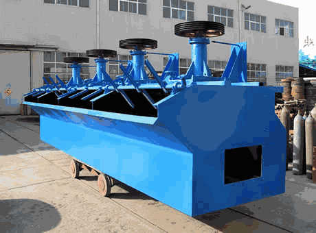 IquiqueChile South America smallgypsumflotation cell