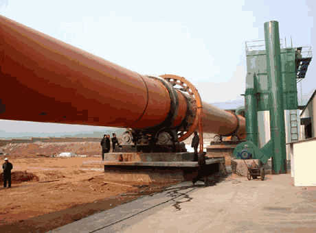 Kinshasa tangible benefits large calcite rotary kiln