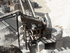 highfinenessand fle ible adjustmentgypsummining equipment