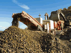 tangible benefits portablesoft rock iron ore processing