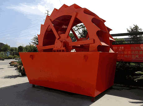 West Asia high quality medium kaolin sand washing machine