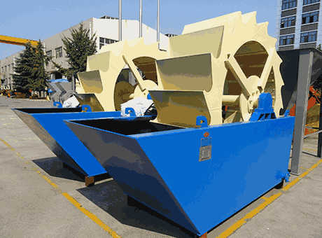 Monrovia low price small pottery feldspar sand washer for sale