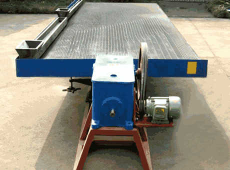 South America economic large pyrrhotite shaking table sell