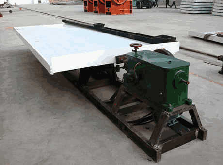 Shaking Table   Ganzhou Gelin Mining Machinery Co., Ltd