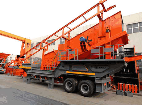 mobile crusher for gypsum crushing process