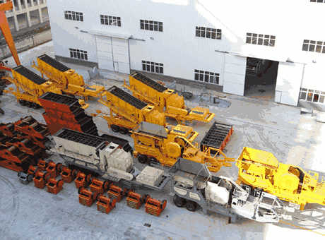 sbm uh mobile crusher plant
