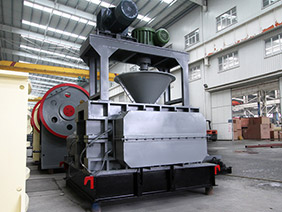 high end large calcining ore briquetting machine in