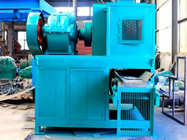 Bandung low price environmental coal briquetting machine
