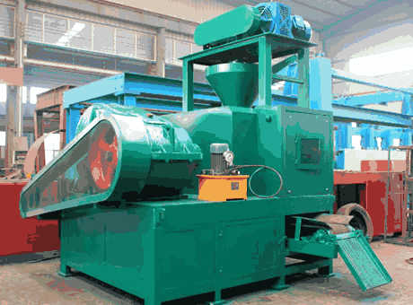 efficient environmental bentonite briquetting machine