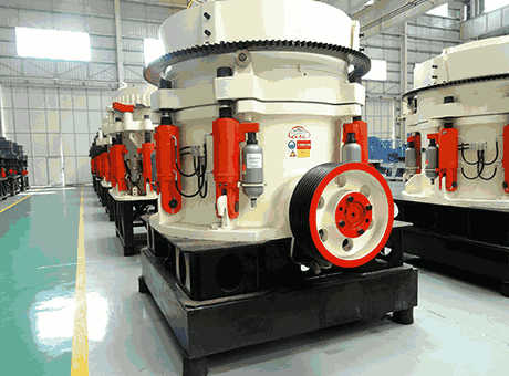 efficient medium ceramsite hydraulic cone crusher sell at